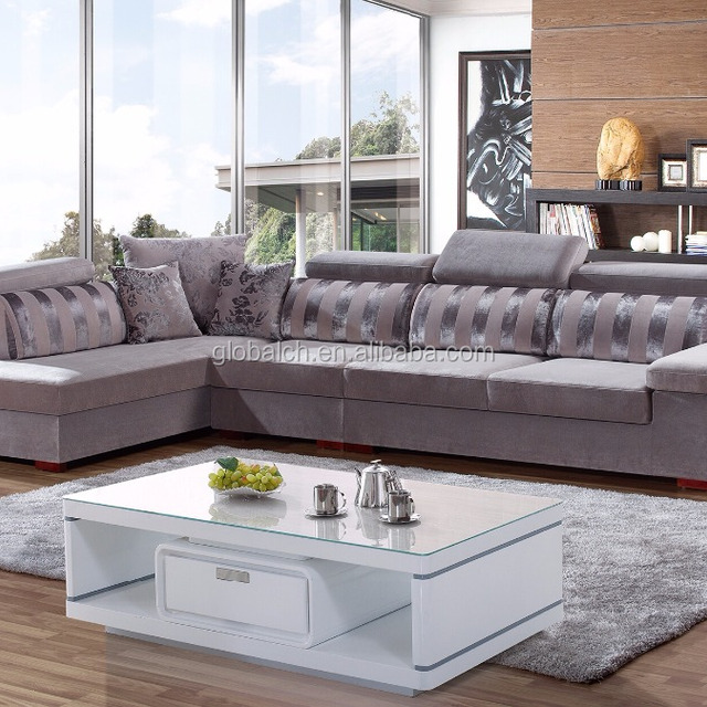 Orizeal Fabric Upholstered Chesterfield Sofa, Living Room Sofa Furniture(BYS802-2)