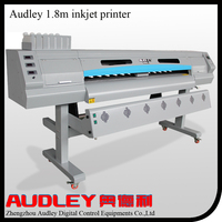 Audley new model 1.8m dual dx5 solvent ink printer
