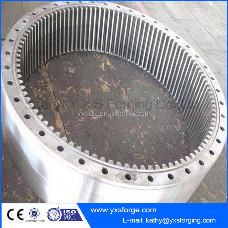 34CrNiMo Transmission Parts Gear Wheel