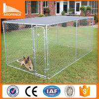 China wholesale chain link dog kennel lowes / chain link dog kennel panels