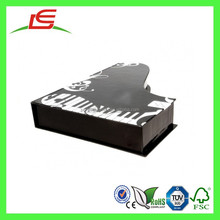Q1073 Novelty Cardboard Piano Shape Music Box Made In China