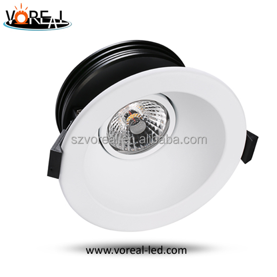 Dimmable 3 years warranty led downlight kitchen with angle of 24/38/60 degree