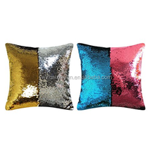 Pillow Case Sequins Cushion Cover Reversible Mermaid Throw Pillow Cover for Couch Decoration