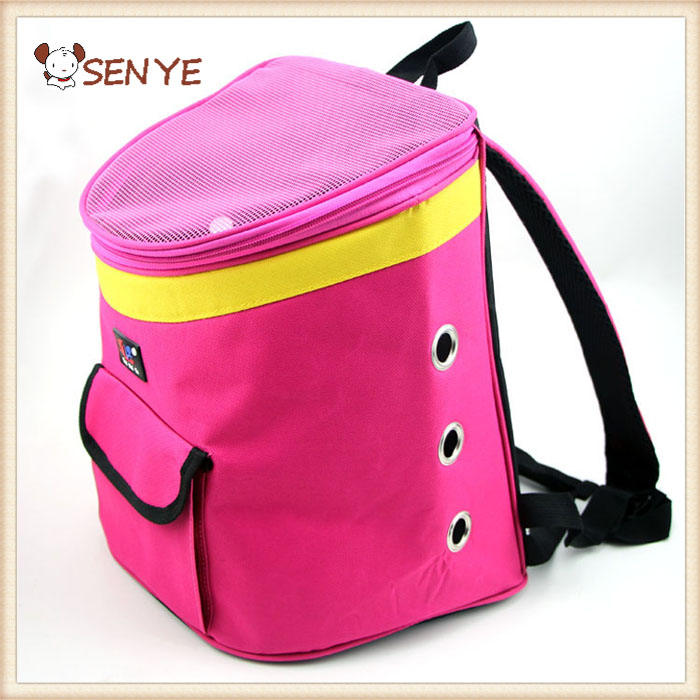 Lovoyager High Quality Pink Cute Front Back Dog Carrier Bag