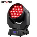indoor equipment	19X15W 4in1 rgbw rotating led night light zoom moving head