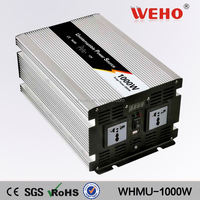 Home inverter 1000w 220v 24v electric inventors with charger