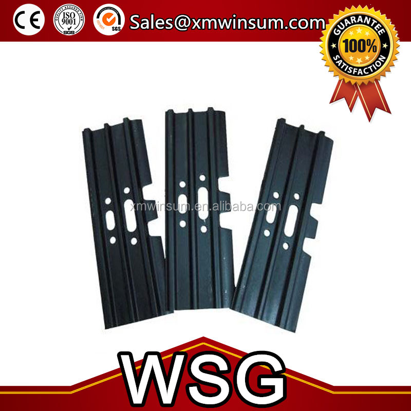 Top quality warranty 1200hours excavator and bulldozer mini excavator track shoe