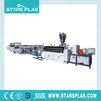 PVC Water Pipe Extrusion Machine Cost Production Line Factory Price