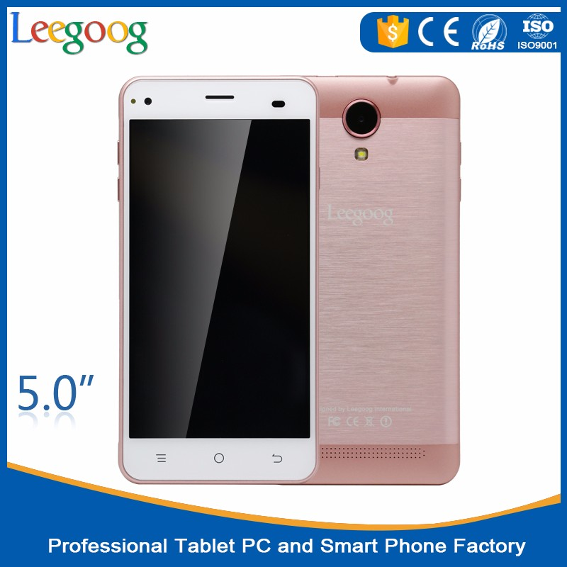 Best Selling 5 INCH Touch Screen Unlocked Android 6.0 Mtk6580 3G Cheap Smart Phone in China Smartphone