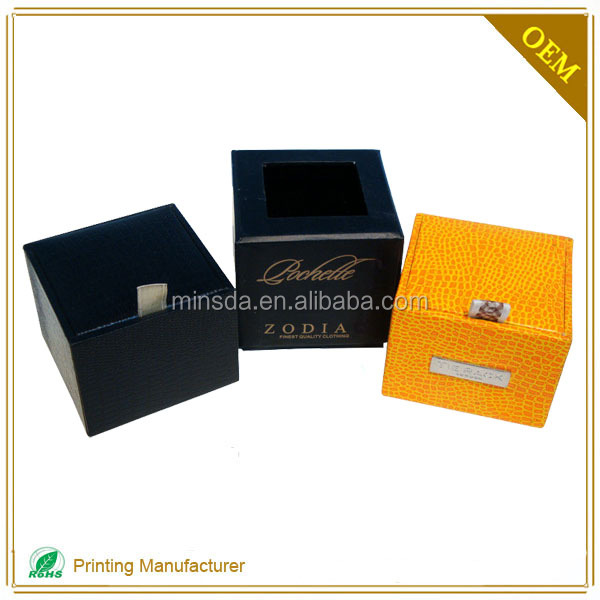 Top Quality Bow Tie Gift Packaging Cardboard Paper Box With LOGO Printing