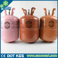 30lb/50lb disposable cylinder mixed r410a refrigerant gas with good price