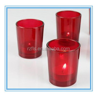 2017 Hot Sale Red Small Glass