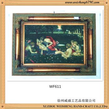 Wooden Antique picture Frame with high quality