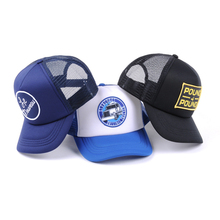 New fashion plain blank foam mesh trucker caps, custom trucker hat with logo