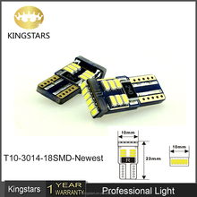 T10 Led canbus Light/auto signal light 3014smd 18leds w5w led canbus t10 canbus led