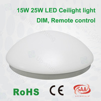 Best selling item 15w 25w CE SAA round surface mounted motion sensor led ceiling light