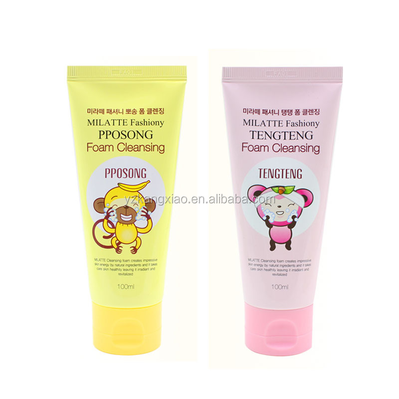 Hand Cream Flexible Tube Packaging,soft plastic tube
