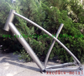 titanium mtb bike frame chinese titanium bike frame factory direct supply titanium bike frame