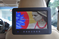 9 inch car/bus HD LED Flip Down/Roof mounted DVD Player with USB SD IR FM GAME