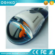 Best cheap Cute design Floater 3D wired liquid mouse