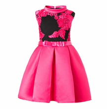 High neck kids modern frocks wholesale communion new picture fashion short dresses