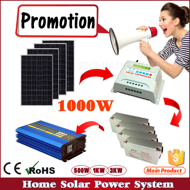 1KW 2KW Lighting Generator Solar Energy