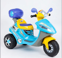 2014 new kids electric motorcycle / children 3 wheel motorcycle with music and light