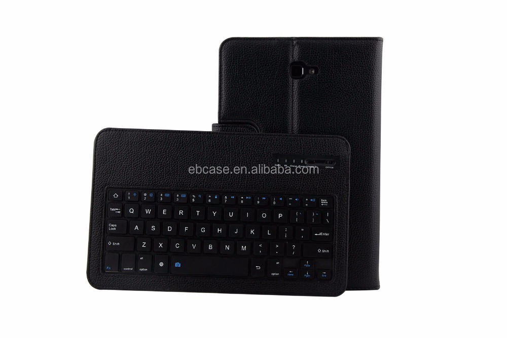 Removable Bluetooth Keyboard Leather Stand Tablet Case For Samsung Galaxy Tab A 10.1 Accessories