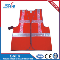 Wholesale highway safety led reflective vests