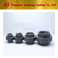 "BS Thread 330 Union 11/2"" Malleable Iron Pipe Fittings"