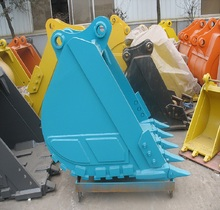 Chinese factory supplier machinery parts 1.2m3 heavy rock bucket for Kobelco SK230 on sale