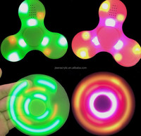 factory price good sound effect bluetooth fidget toy hand spinner with CE certificate