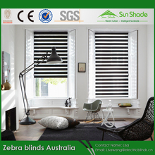 DIY Day Night Double layer Zebra blinds Automatic System