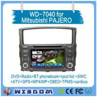 2016 New touch screen car dvd for Mitsubishi Pajero V97/V93 2006 2007 2008 2009 2010 2011 wifi car stereo reverse camera 3g CE