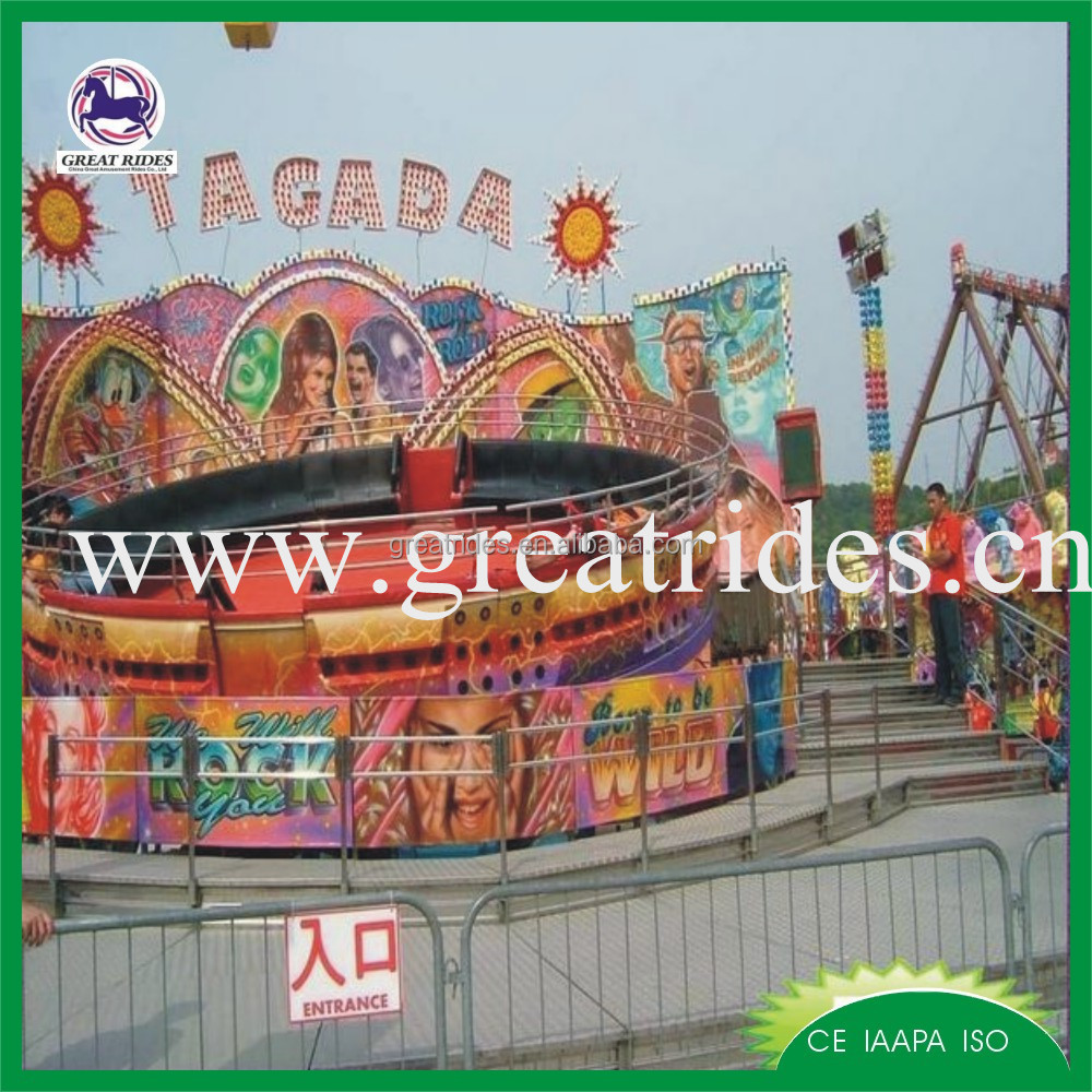 Outdoor&indoor amusement park carnival rides of disco tagada for sale