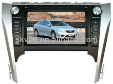"8"" HD digital TFT auto DVD gps player for Toyota CAMRY 2012, with TV,radio, bluetooth"