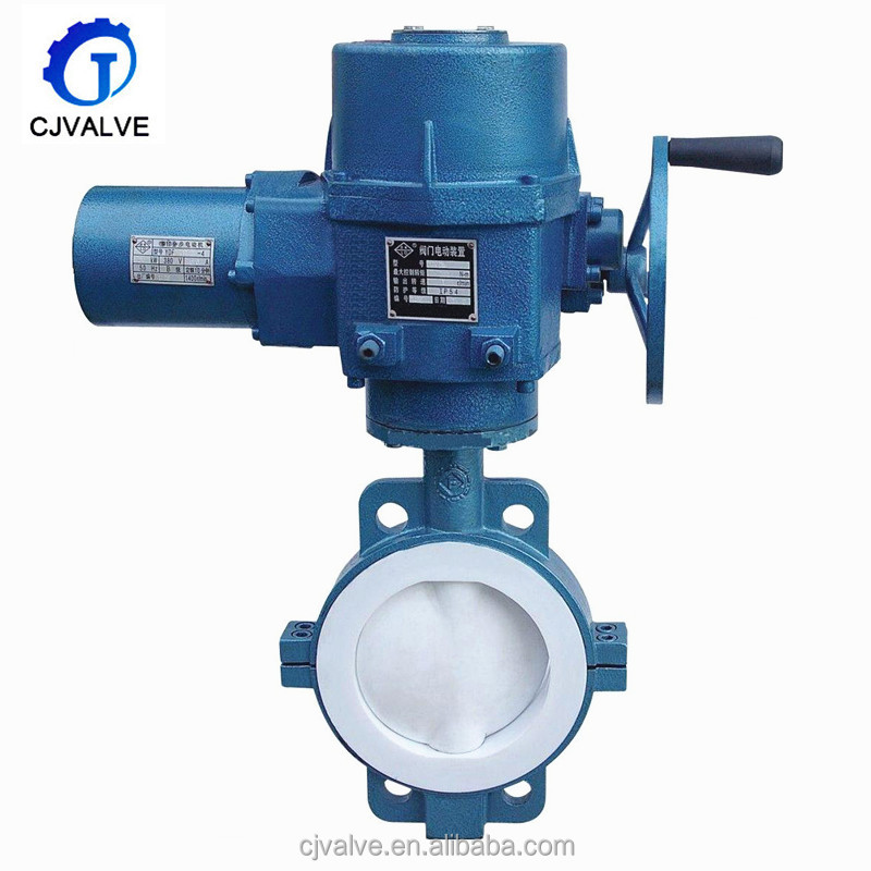 China wholesale butterfly valve gear operator- full flange type price butterfly valve