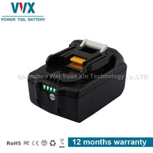 High Capacity Portable 18v 3ah bl1830 replacement battery for makita