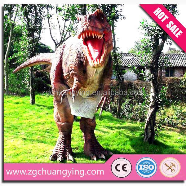 2016 the warmest light weight lifelike vivid dinosaurs is suitable for the robot movement