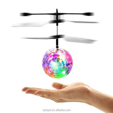 RC Flying Ball Toy Drone Ball Magic LED Lighting for Kids Teenagers Colorful Flyings Kids Toys