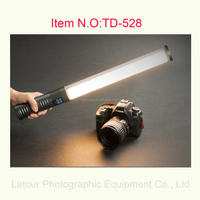 516 LED Professional Video Studio Handheld Filler Bi-Color Continuous Output Dimmable Lighting Wand tube light for Photography