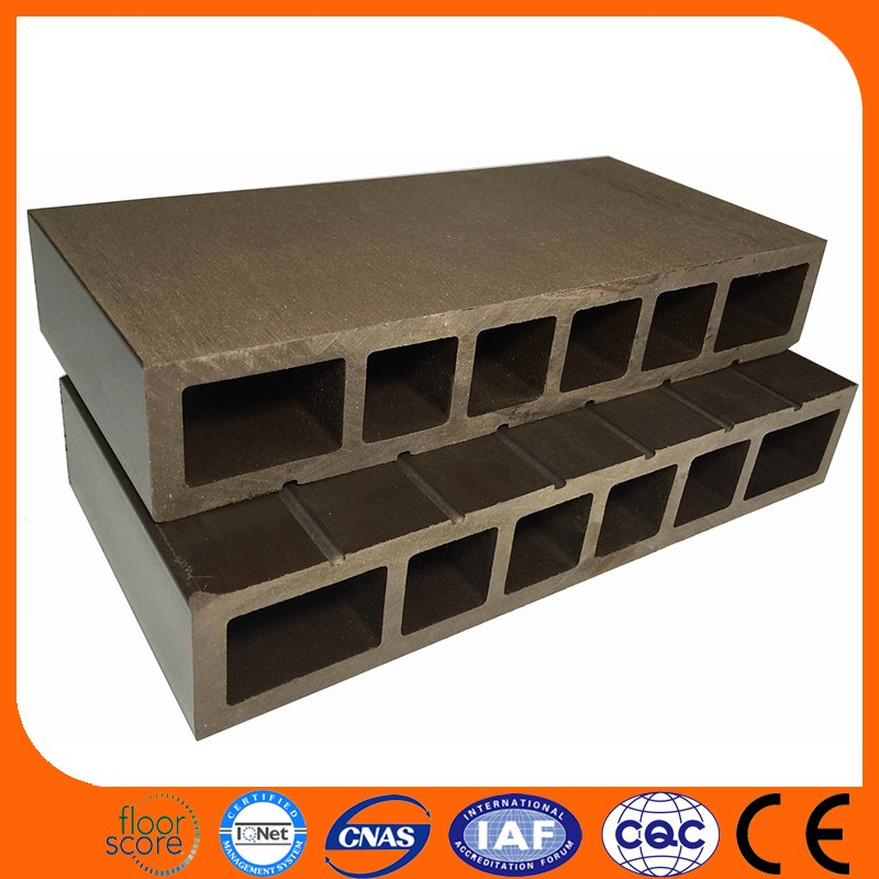 Factory Direct Sale cheap price 150*25 Wood Plastic Composite wpc decking tile flooring board on sale
