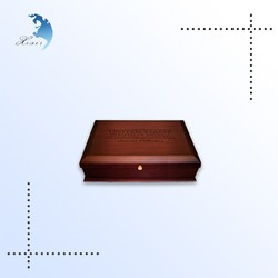 Custom eco-friendly small wooden packaging box,rectangle wood box gift container