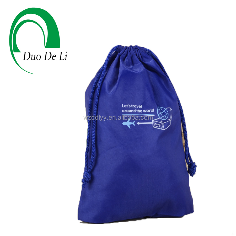 Free Samples Top Quality Professional Silk Screen Printed Cotton Drawstring bag