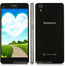 best selling Lenovo A858T 1GB RAM 8GB ROM MT6732 Quad Core 4G TD-LTE WCDMA Android 4.4 Multilanguage Phone 1280 x 720 pixels