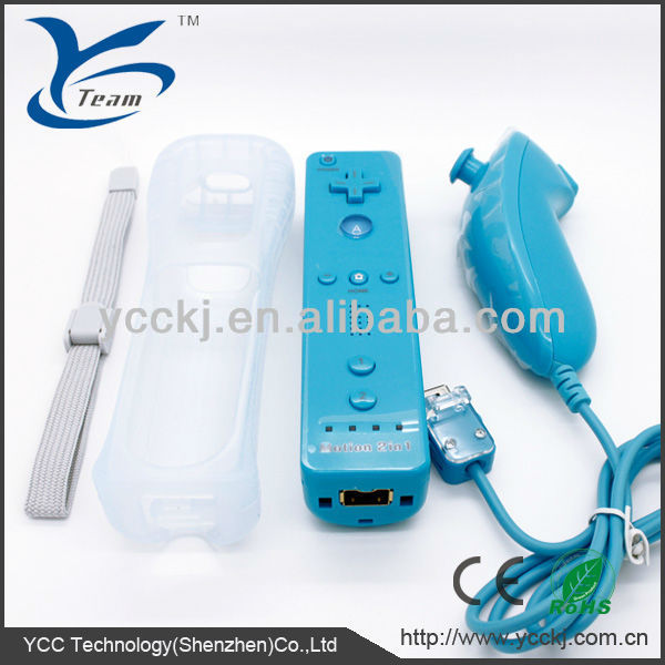 For Nintendo WII right and left hand controller for wii combo and nunchuck for wii remote