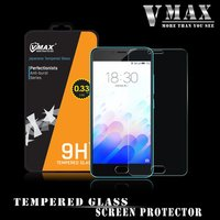 Top Band VMAX!! Anti-broken Ultra clear 0.33mm 9H 2.5D cell phone Tempered Glass screen protector for meizu 3
