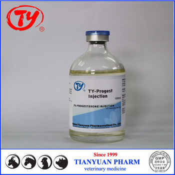 Veterinary Medicine Progesterone 5% Injection High Quality Products Veterinary