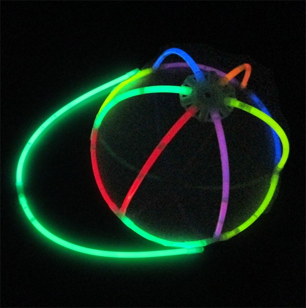 2014 cheap birthday party supplies glow stick cap