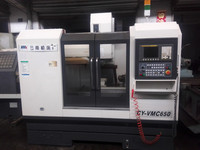 vertical cnc milling machine Used YCM whole set cnc engraving and milling machine 90% full new